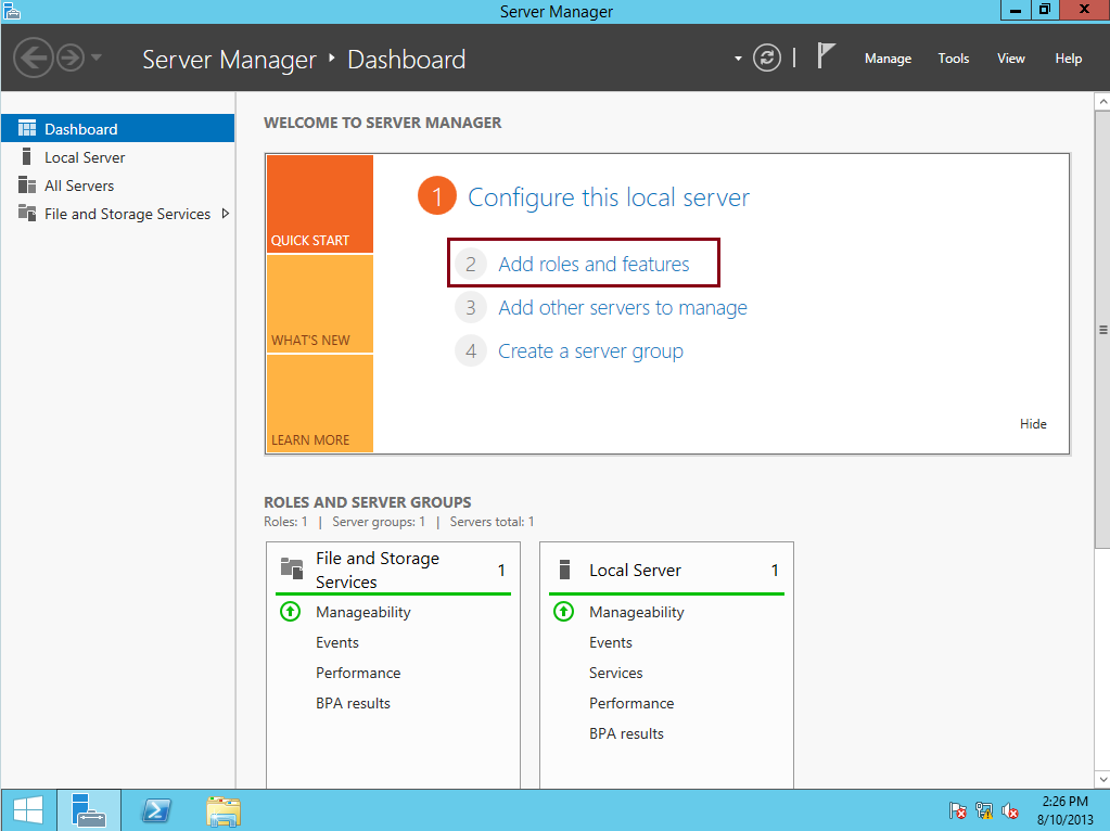 Simple Guide : Deploying Server 2012 R2 Core using Windows