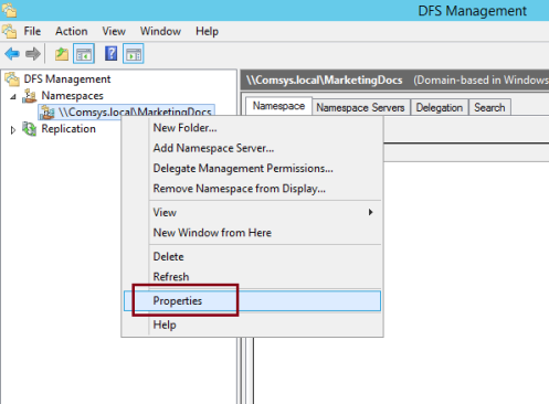 SRSCCTEK How To's     - Step by Step : Deploy DFS in Windows